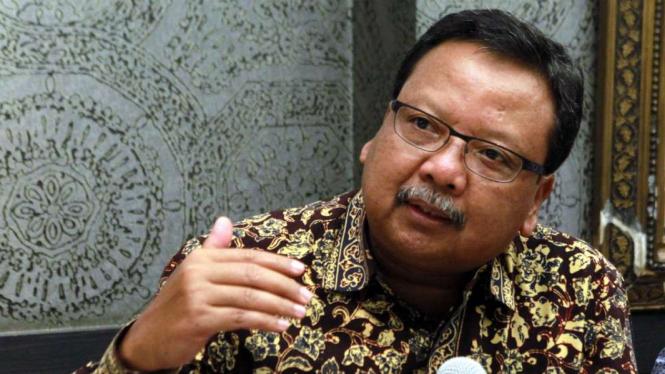 Direktur Utama PT Pertamina EP, Nanang Abdul Manaf.