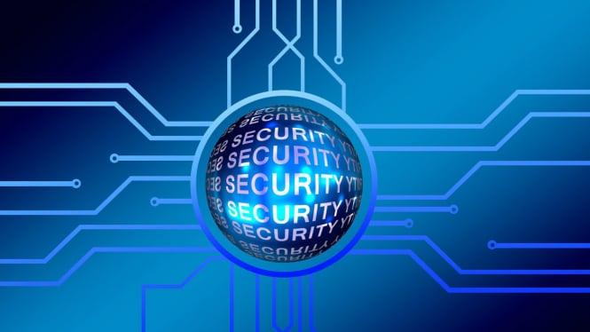 Ilustrasi keamanan siber.