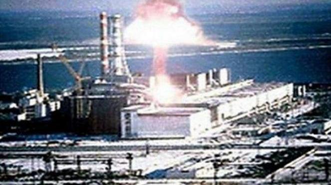 Bencana Nuklir di Chernobyl, Ukraina.