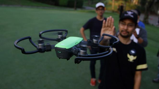 Peluncuran Drone DJI Spark