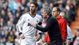 Sergio Ramos dan Jose Mourinho