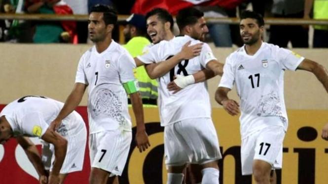 Para pemain tim nasional Iran