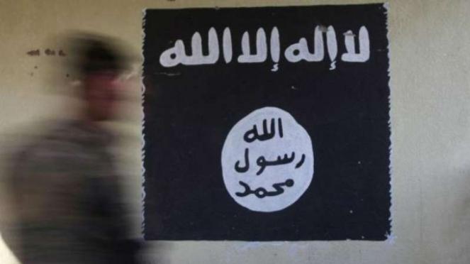 Logo kelompok militan ISIS.