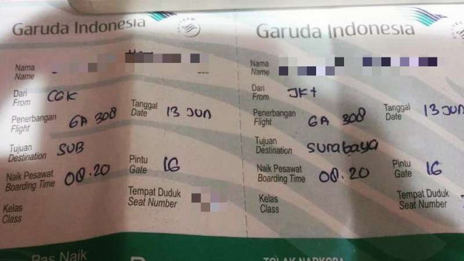 Tiket Garuda Indonesia Ditulis Manual Jaringan Down Viva