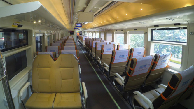 Gelar Katf Tiket Kereta Api Jakarta Surabaya Rp150 000 Viva