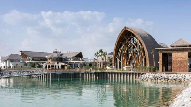Banana Island Resort di Qatar.