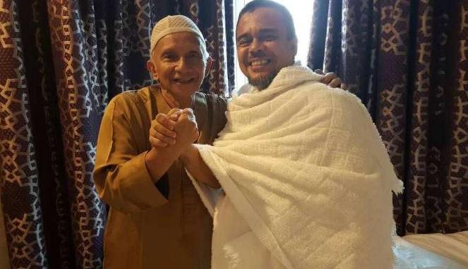 Amien Rais bertemu dengan Habib Rizieq di Mekah, Arab Saudi.