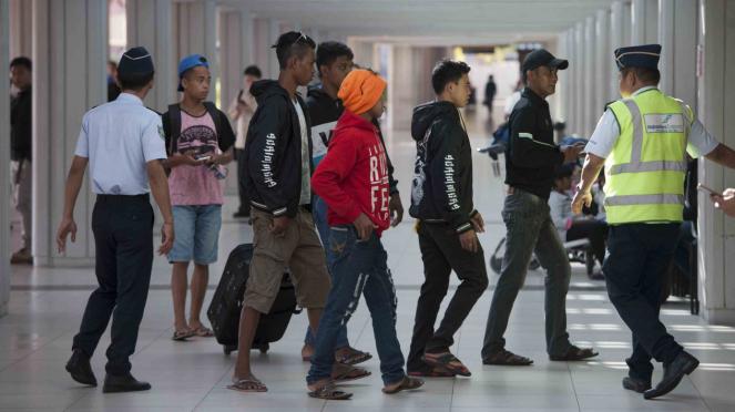 Pengamanan Bandara Ngurah Rai Bali Jelang Mudik Lebaran