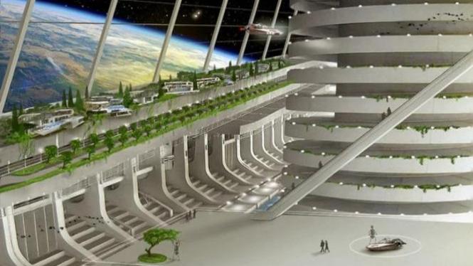 Asgardia, negara pertama di luar angkasa.