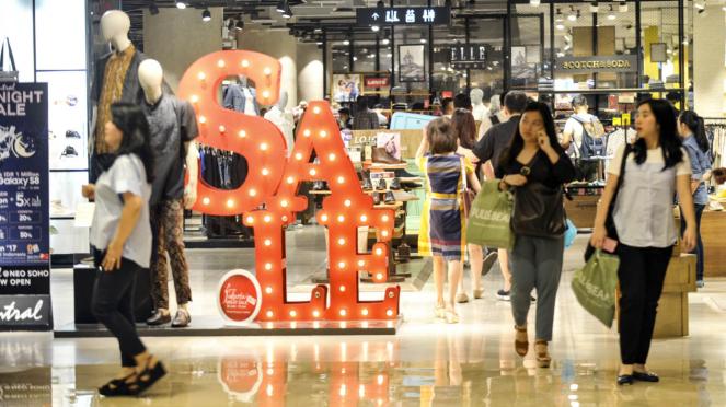 Midnight Sale di Grand Indonesia