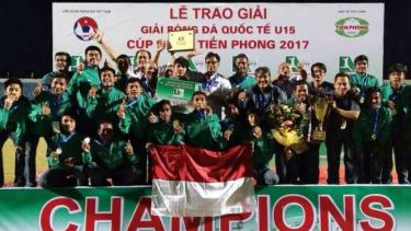 Timnas Indonesia U-16 juara turnamen Tien Phong Plastic Cup 2017 di Vietnam