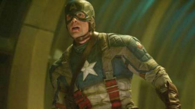 Chris Evan dalam Captain America