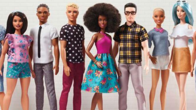 Boneka Ken dan Barbie