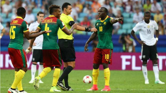 Para pemain Timnas Kamerun