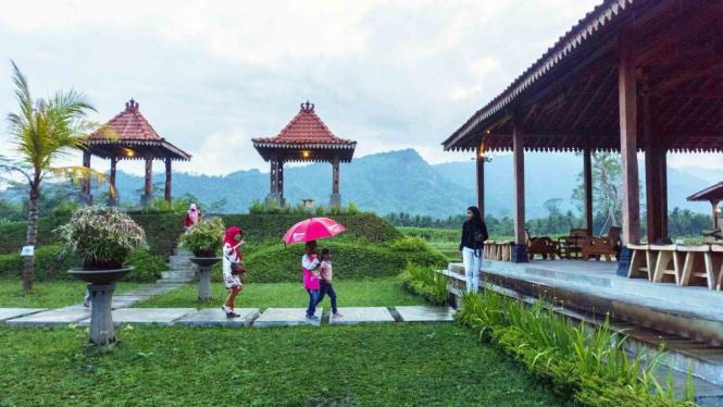 Ilustrasi wisata Magelang