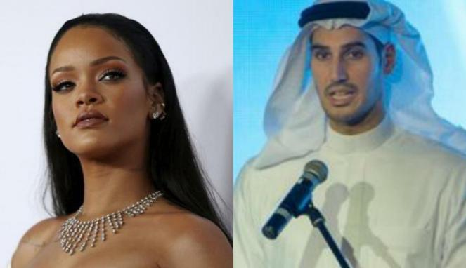 Rihanna dan Hassan Jameel