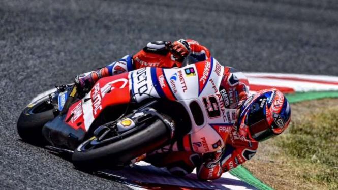Pembalap Tim Pramac Ducati, Danilo Petrucci