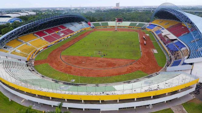 Stadion Gelora Sriwijaya Jakabaring di Palembang