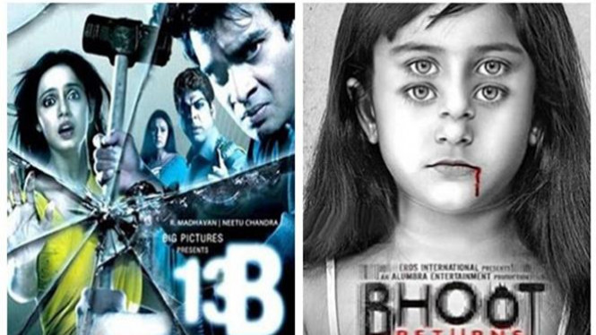 Ilustrasi Film horor India.