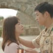 Song Hye Kyo dan Song Joong Ki dalam salah satu adegan di Descendants of the Sun.
