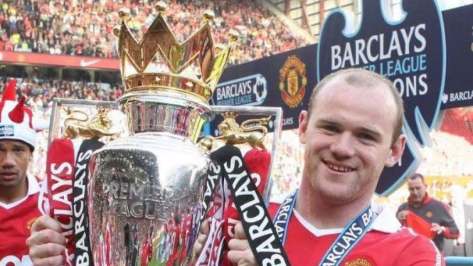 Wayne Rooney saat masih membela Manchester United
