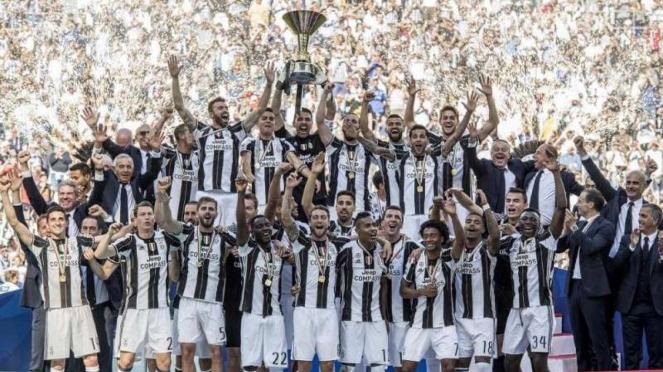 Juventus juara Serie A 2016/2017