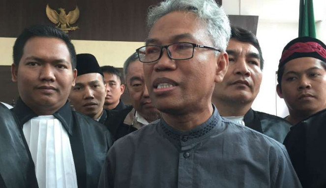 Sidang lanjutan Buni Yani di Pengadilan Negeri Kelas 1A Bandung, Jawa Barat.