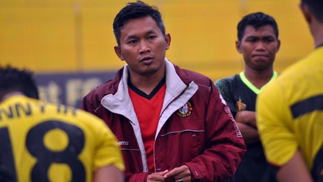 Mantan pelatih Tira-Persikabo, Rudy Eka Priyambada