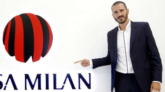 Leonardo Bonucci di markas AC Milan