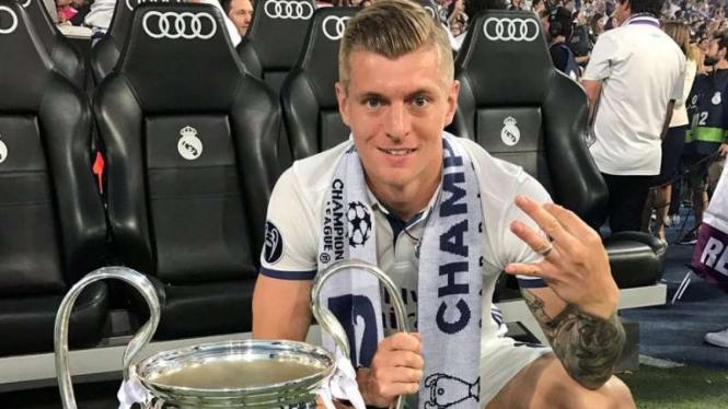 Gelandang Real Madrid, Toni Kroos