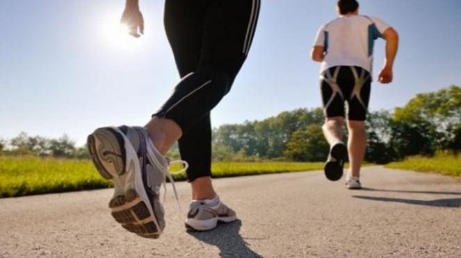 Ilustrasi jogging.