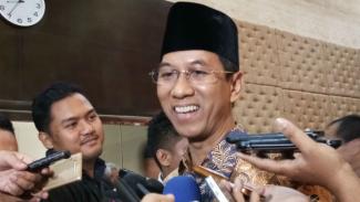Kepala Sekretariat Presiden (Kasetpres),Heru Budi Hartono usai dilantik