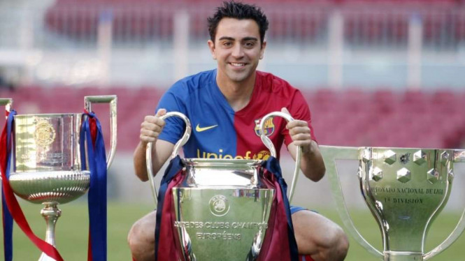 Mantan bintang Barcelona, Xavi Hernandez