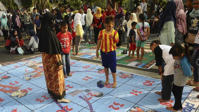 Perayaan Hari Anak Nasional di sejumlah daerah