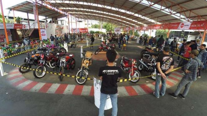 Adu Keren Di Honda Modif Contest Viva