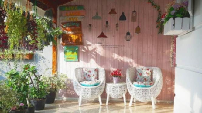Desain Ruang Ala Shabby Chic Terjangkau Dan Instagramable