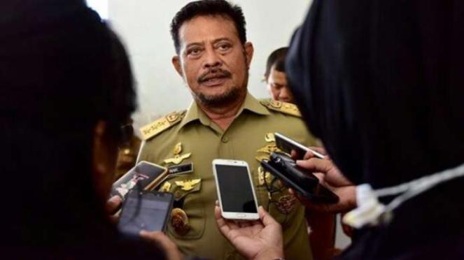 Politisi Partai NasDem, Syahrul Yasin Limpo.