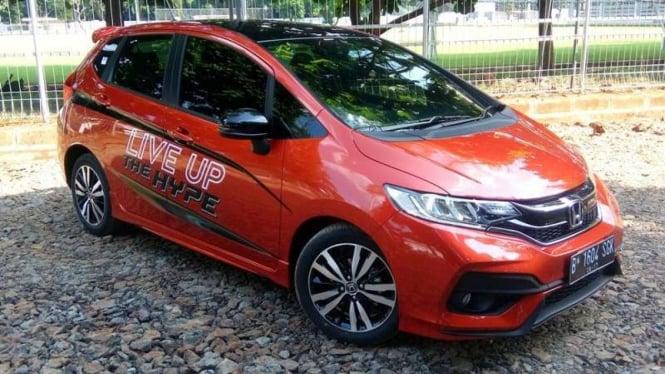 Honda Jazz terbaru meluncur di Jakarta, Rabu 26 Juli 2017.
