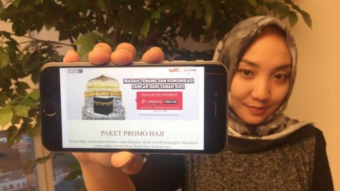 Ilustrasi paket Haji Telkomsel