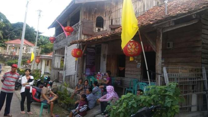 Kampung pecinan di Bangka Selatan