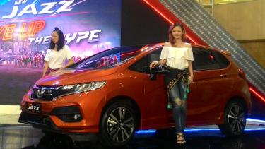 Peluncuran Honda Jazz baru di Surabaya.
