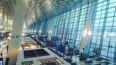 Ilustrasi bandara.