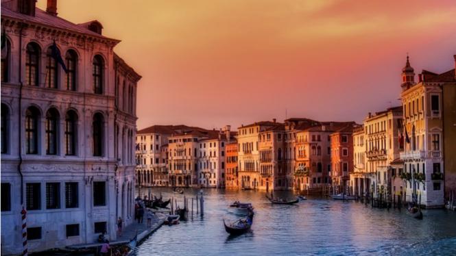 Venesia, Italia.