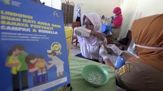 Pemberian Vaksin Campak Rubella