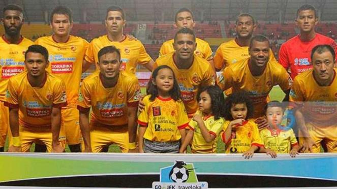 Skuat Sriwijaya FC di ajang Liga 1