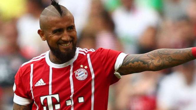 Gelandang Bayern Munich, Arturo Vidal