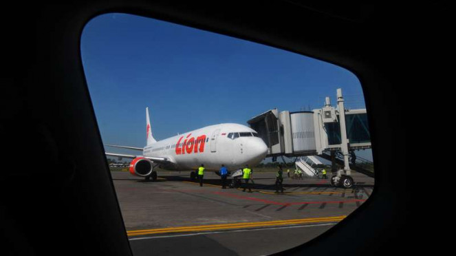 Pesawat Lion Air.