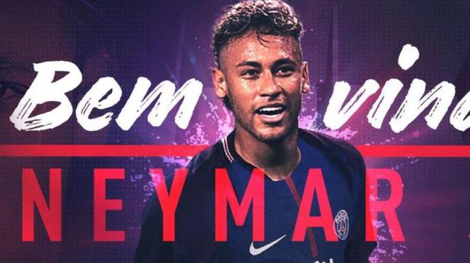 Penyerang PSG, Neymar