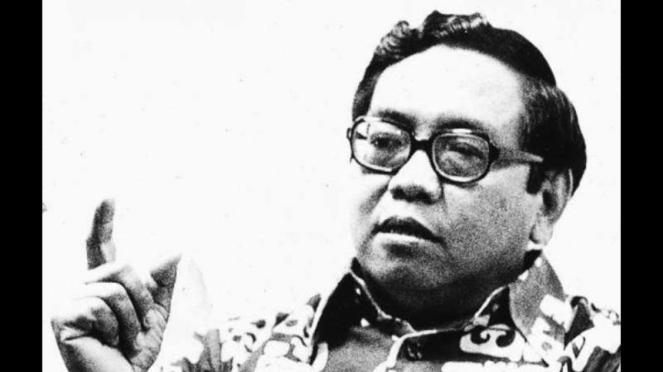 Gus Dur atau KH Abdurrahman Wahid, Presiden Indonesia keempat yang sempat menjabat selama dua tahun pada tahun 1999-2011