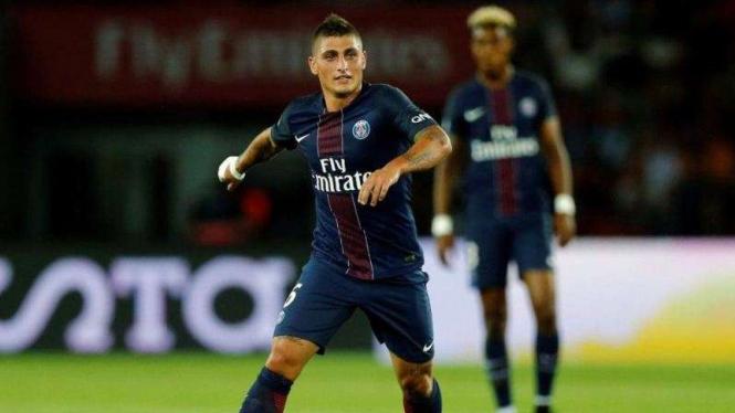 Gelandang Paris Saint-Germain (PSG), Marco Verratti